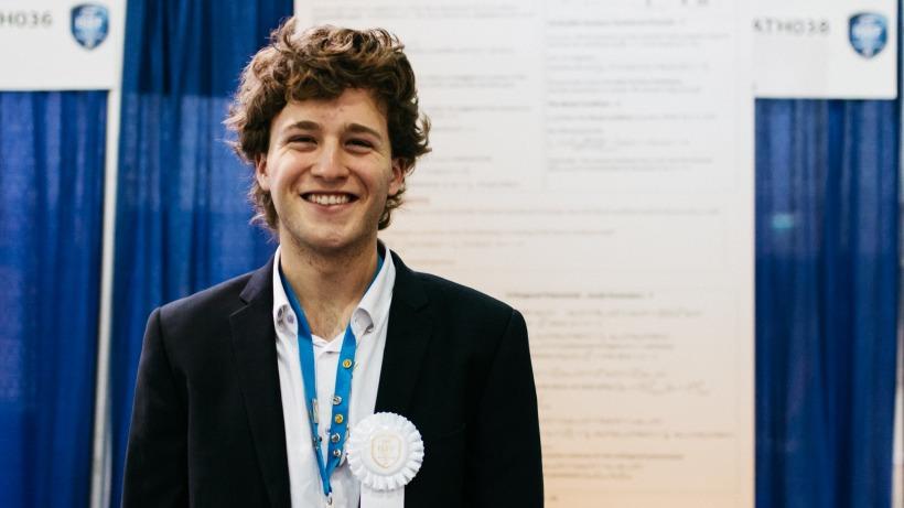 גונן צימרמן -  INTEL ISEF 2017 זוכה פרס